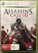xbox 360 ASSASSINS CREED II pal COMPLETE with manual ASSASSINS CREED 2 microsoft