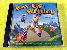 Rev-Up for Writing with Revver ~ PC CD Rom Video Game ~ New ~ Amazing Bible Kids
