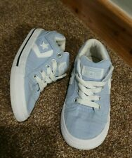 Boys girls kids childs infant converse trainers shoes Size 10 UK baby blue