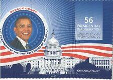 2009 Presidential Obama Inauguration Washington Rand McNally DC Cloth Map
