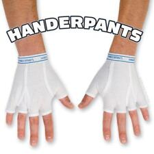 1 Pair Handerpants Tighty Whitey Fingerless Cotton Gloves Funny Humor Gag Gift