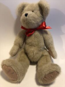 "The Boyds Collection Teddy Bear Soft Toy Plush 1988-2004 14"" Light Brown"