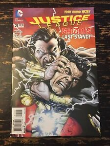 Justice League #21 1st App Shazam Family (DC, 2013) Free Combine Shipping