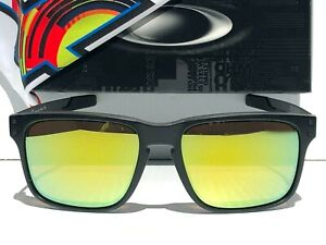 NEW* Oakley HOLBROOK MIX VR46 Rossi Matte Black POLARIZED Galaxy Fire Sunglass