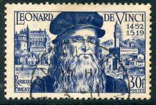 STAMP // TIMBRE FRANCE OBLITERE N° 929 PEINTRE LEONARD DE VINCI
