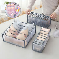 6/7/11 Underwear Bra Socks Ties Drawer Storage Organizer Boxes Closet Divider