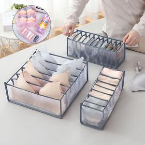 6/7/11 Underwear Bra Socks Ties Drawer Storage Organizer Boxes Closet Divider