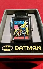 BATMAN and ROBIN Detective Comics Classic Comic Book Cover Watch NEW IN BOX  HTF