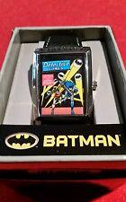 BATMAN and ROBIN Detective Comics Classic Comic Book Cover Watch NEW IN BOX  HTF