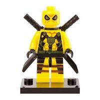 Deadpool Minifigure - Marvel Super Heroes Figure For Custom Lego Minifigures  15