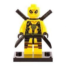 Deadpool Minifigure - Marvel Super Heroes Figure For Custom Lego Minifigures  15