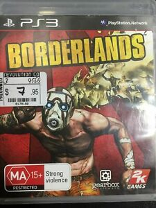 BORDERLANDS - Playstation 3 - Preowned