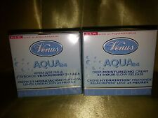 Venus Aqua x2 deep moisturizing cream 1.7 oz each nib