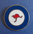 ROYAL AUSTRALIAN AIR FORCE RAAF ROUNDEL LAPEL BADGE 20MM HIGH WITH ONE PIN RAAF