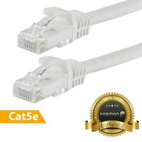 Fosmon 6 25 50 FT High Speed Cat 5e RJ45 Ethernet Patch Network Router Cable
