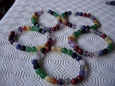 chakra bracelet gemstones 100% natural   x 5 wholesale £2.50 each wow!