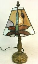 Tiffany Style Stained Glass Dragonfly Table Desk Lamp Shade Home Decoration#127