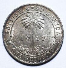 1917 H British West Africa One 1 Shilling - George V - Lot 1410