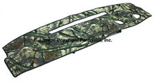 NEW Mossy Oak Treestand Camo Camouflage Dash Mat Cover / FOR 1995-96 CHEVY TRUCK