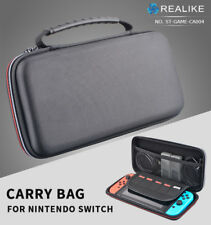 Black Protective Hard Case Carry Storage Bag Cover for Nintendo Switch Console