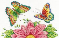 Butterfly Garden Cross Stitch Kit Susan bates DMC BK1545