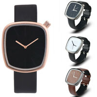 Women Fashion Wrist Watch Leather Band Analog Quartz Watches Casual Wristwatch U