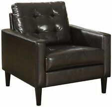 Acme 59046 Balin Accent Chair, Espresso Polyurethane Finish