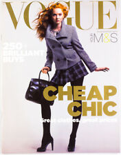 LILY COLE Romilly Weeks EMILIA FOX Annabelle Neilson VOGUE MAGAZINE Trend 2007