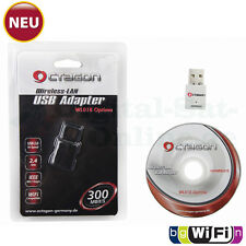 ► OCTAGON WL018 Wireless LAN USB 2.0 Adapter 300 Mbit/s