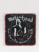 Motorhead Lemmy patch iron fist & the hordes from hell Jacket Iron on Badge USA