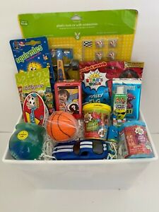 Kids Cute Fun filled Boys Ryan's world BIRTHDAY CELEBRATION Gift basket PRIORITY