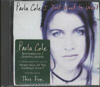 I Don't Want To Wait - Paula Cole CD