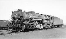 Boston & Albany #1454 2-8-4 VINTAGE POSTCARD SIZE PHOTO-Railroad