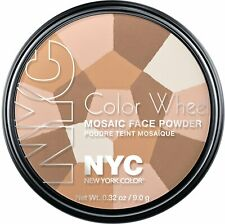 NYC New York Color Wheel Mosaic Face Powder - 722A Translucent Highlighter Glow