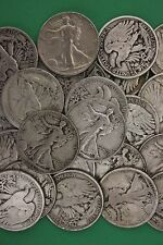 MAKE OFFER 1 Troy Pound Walking Liberty Half Dollars Junk 90% Silver Coins