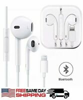 For A pple iPhone7 8 Plus X XR XS 11 Wired Headphones Headset Earbuds Gift