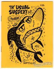 TH' USUAL SUSPEX minicomic GARY FIELDS Poopsheet Monthly Mini-Comic minicomix