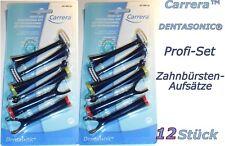 Curamed DENTASONIC 12 Zahnbürstenaufsätze Ersatzzahnbürsten für viele Modelle