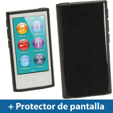 Negro Case TPU Gel para Nuevo Apple iPod Nano 7ª Generación 7G TPU Funda Cover