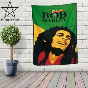 Amazing BOB MARLEY Quality hippie Tapestry Wall Hanging Hippie  Decoration