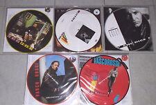 VASCO ROSSI - collezione completa 5 LP picture disc