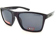 Dirty Dog Volcán Polarizados Gafas de sol Hombre Negro Satinado / Gris 53433