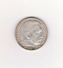 1936j GERMANY  KM 94 SILVER COIN 5 MARK UNC