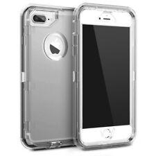 Otterbox Inspired iPhone 8 7 6s 5 Plus X Transparent Clear Defender Cover Case