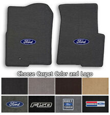 Ford F-150 2pc Classic Loop Carpet Floor Mats - Choose Color & Logo