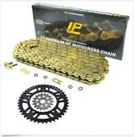For Kawasaki GPX600R 88-00 ZX600 1987 O-ring Chain & Front Rear Sprocket Kit Set