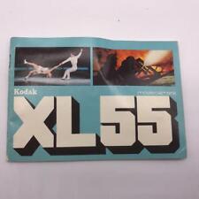 Vintage Kodak XL55 8mm Movie Camera Instructions Manual