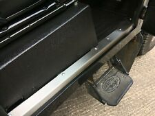 Stainless Steel Front Door Sill Covers SS Threshers FOR Land Rover Defender