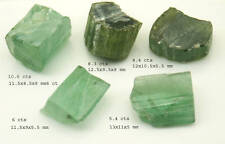 Stunning 38.7 cts Afghan Green Tourmaline  Rough Parcel