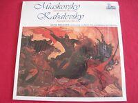 SEALED CLASSICAL LP- MIASKOVSKY/KABALEVSKY (1977) DAVID MEASHAM- UNICORN RHS 346